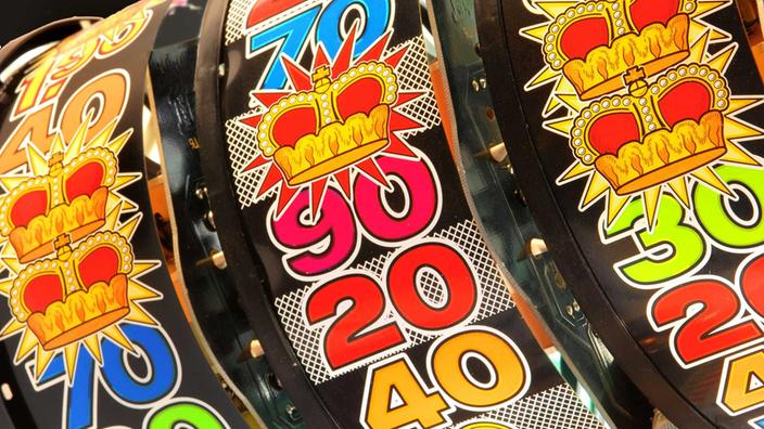 Glücksspielautomaten. Beste Spielgeräte warten auf Sie. Hohe Gewinnchance.