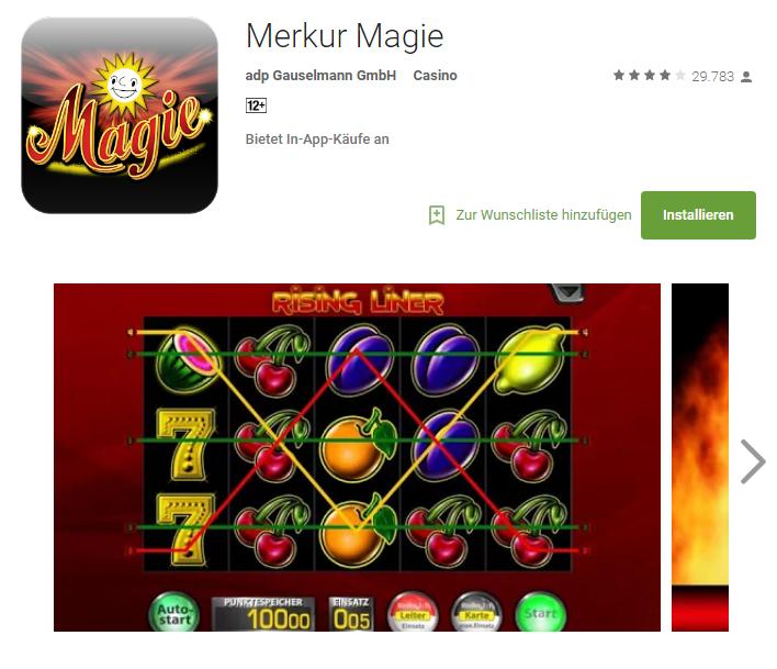 merkur magie app image