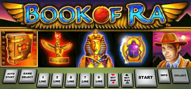 start online casino book of ra online kostenlos